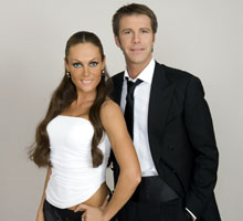 Ballando con le stelle - Vittorio Emanuele di Savoia e Natalia Titova