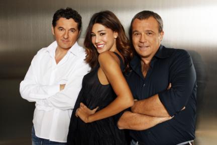 Scherzi a parte - Claudi Amendola, Belen Rodriguez e Teo Mammucari