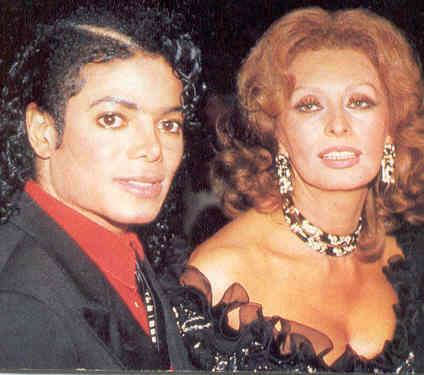 MICHAEL JACKSON BLOG  Sophia Loren    Michael era come un figlio c154b5af91